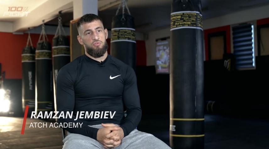"""RAMZAN """"LOUP NOIR"""" JEMBIEV"""